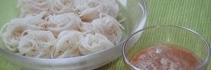 【ソレダメ】ご当地素麺!ぼぶらそうめん&ソーメンチャンプルーのレシピ