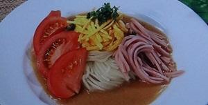 ヒルナンデス:冷やし中華のレシピ!薄焼き卵や極上たれ!五十嵐美幸シェフ