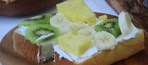 所さんお届けモノ:ホットフルーツサンドのレシピ!ロバート馬場のホットプレートレシピ