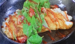 家事ヤロウ:天達特製「餃子オムレツ」のレシピ!小倉智昭さんがあまたつコールも