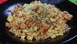 【ヒルナンデス】豚ひき肉と鰹節のチャーハンのレシピ!五十嵐美幸シェフ