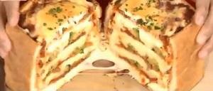 【世界の日本人妻は見た】ギャル曽根の「チーズの食パンラザニア」のレシピ!