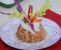 ティアラのチキンライスのレシピ