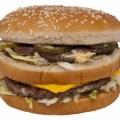 マクドナルドのハンバーガー