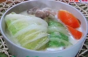 あさイチ:白菜の煮込み(シュークルート風)のレシピ!ガッテンでも