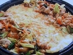 チーズタッカルビ風!肉野菜炒め