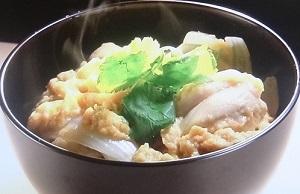 【ガッテン】ジューシーひき肉親子丼のレシピ!