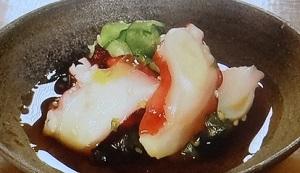 【ソレダメ】鉄人黒木流!土佐酢で作るタコときゅうりの酢の物のレシピ