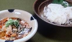 ツナつけ麺