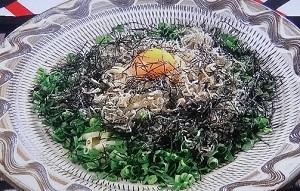 【とんねるず】チャチャッとキッチン麺レシピ!藤井フミヤのジャコ玉うどん