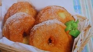 まるごとりんごドーナツ
