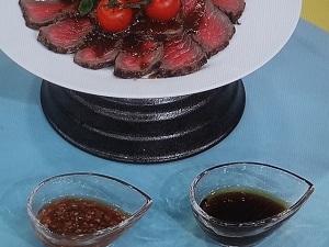 【あさイチ】ローストビーフのソース2種のレシピ!