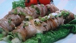白菜の豚バラチーズ巻き