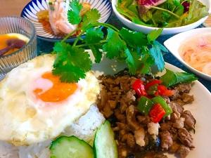 タイ料理、ガパオライス