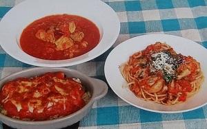【男子ごはん】チキンのトマト煮込みのレシピ!
