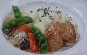 チキンと春野菜のワンプレートのレシピ【あさイチ】加藤巴里