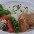 チキンと春野菜