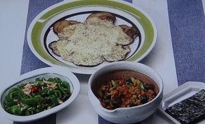 【男子ごはん】簡単おつまみのレシピ!ピリ辛きゅうり納豆、すぐナスチーズ!江口洋介