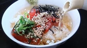 ごはんジャパン:サバのゴマ茶漬けのレシピ!小林雄二シェフ