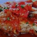若鶏のトマト煮
