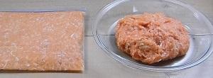 【ソレなら5分で出来ますよ】鶏ひき肉のつくね味のレシピ!レンチン鶏つくね!半作り置き料理