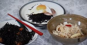 【きょうの料理】土井善晴のひじきのバター炒めハムエッグのせのレシピ!