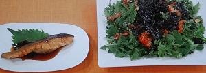 【あさイチ】さけ(しゃけ)の照り焼きのレシピ!春菊のサラダもby阪下千恵