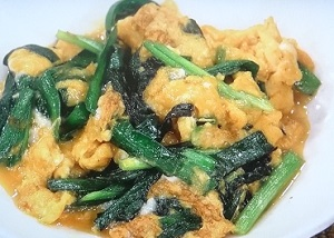 五十嵐美幸シェフのニラ玉のレシピ!卵がフワフワになる方法も :ヒルナンデス料理の超キホン検定