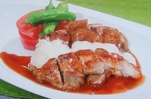 【ヒルナンデス】鶏肉の照り焼き 胡麻ソースのレシピ!皮パリパリ!五十嵐美幸シェフ