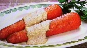 【モニタリング】平野レミの人参のまるごと蒸しのレシピ!