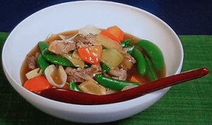 【きょうの料理】栗原はるみの春野菜の五宝菜のレシピ!八宝菜のアレンジ