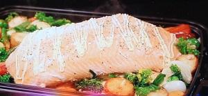 【有吉ゼミ】巨大サーモンの ぎゅうぎゅう焼きのレシピ!藤あや子がコストコ食材で