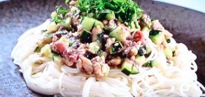 ヒルナンデス:刻み夏野菜のっけうどんのレシピ!コウケンテツ