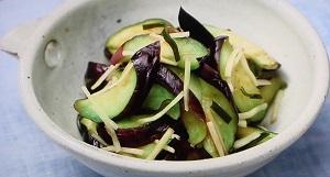 【たけしの家庭の医学】奥園流なすの塩漬けのレシピ!アレンジも!血糖値の上昇を防ぐ紫色食材レシピ