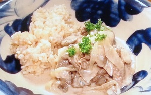 メレンゲの気持ち:熊谷真実特製ビーフストロガノフのレシピ!マキシマムのお取り寄せ