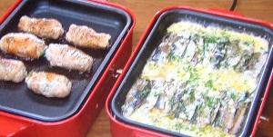 ピーマンとチーズの豚ロース焼きのレシピ!チーズがとろ~り ホットプレート料理:男子ごはん