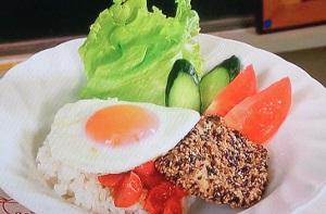 ラヴィット:ロコモコ丼のレシピ!日向坂高本彩花(おたけ)激うまレシピ選手権
