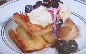 きょうの料理:栗原はるみさんのりんごの簡単パイのレシピ!