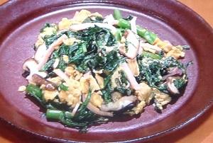 きょうの料理:春菊たまのレシピby斉藤辰夫!冬野菜を使った簡単おかず