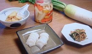 人生レシピ:横山タカ子さんの大根漬物レシピ4品!大根のみそ漬けや韓国風ほか