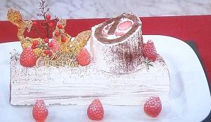 ZIP:鎧塚シェフ直伝!ブッシュドノエル(クリスマスケーキ)のレシピ!桝アナのなーるほどマスカレッジ