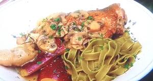 男子ごはん:骨付き鶏もも肉の白ワインハーブ煮のレシピ!
