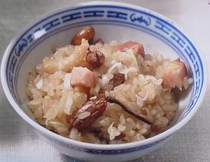 グッとラック:ギャル曽根の中華風おこわのレシピ!切り餅で