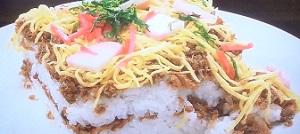 ケンミンショー 京都のさば缶のばら寿司のレシピ:絶品ライス祭り