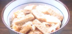 ケンミンショー 愛媛県のじゃこ天の炊き込みご飯のレシピ:絶品ライス祭り