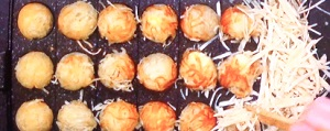 たこ焼き風チーズハットク