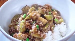 あさイチ:なすとそぼろのピリ辛あんかけ丼のレシピ!孫成順さんのオレのどんぶり