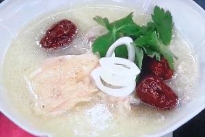 グッとラック:ギャル曽根のサムゲタンのレシピ!サラダチキンで簡単