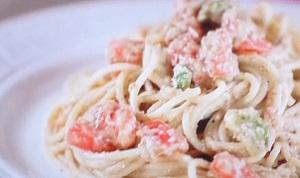 サタデープラス:美肌野菜の冷製パスタのレシピ!道乃先生の美肌メシ