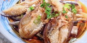 シューイチ:ナスの揚げお浸しのレシピ!宮舘家のおふくろの味!まじっすか